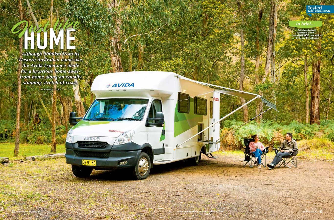 2015 B7944 Esperance Motorhome Review - Avida RV