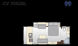 CV7052SL Topaz (21ft)