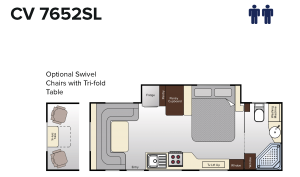 CV7652SL Topaz (23ft)