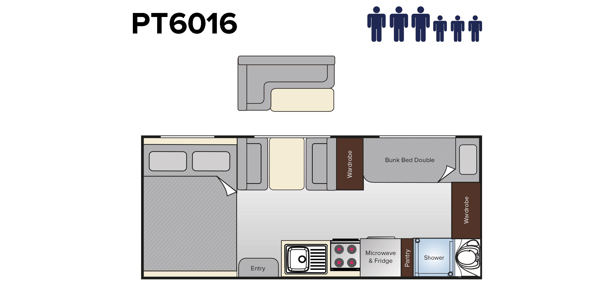 PT6016 Wave (18ft)