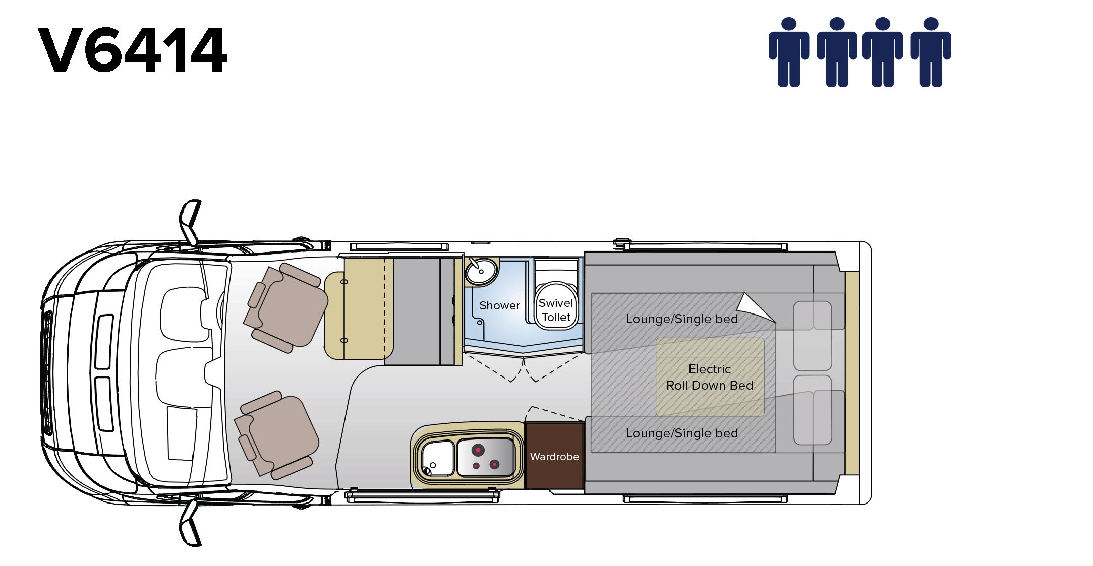 Floorplans & 3D Tours - Avida RV