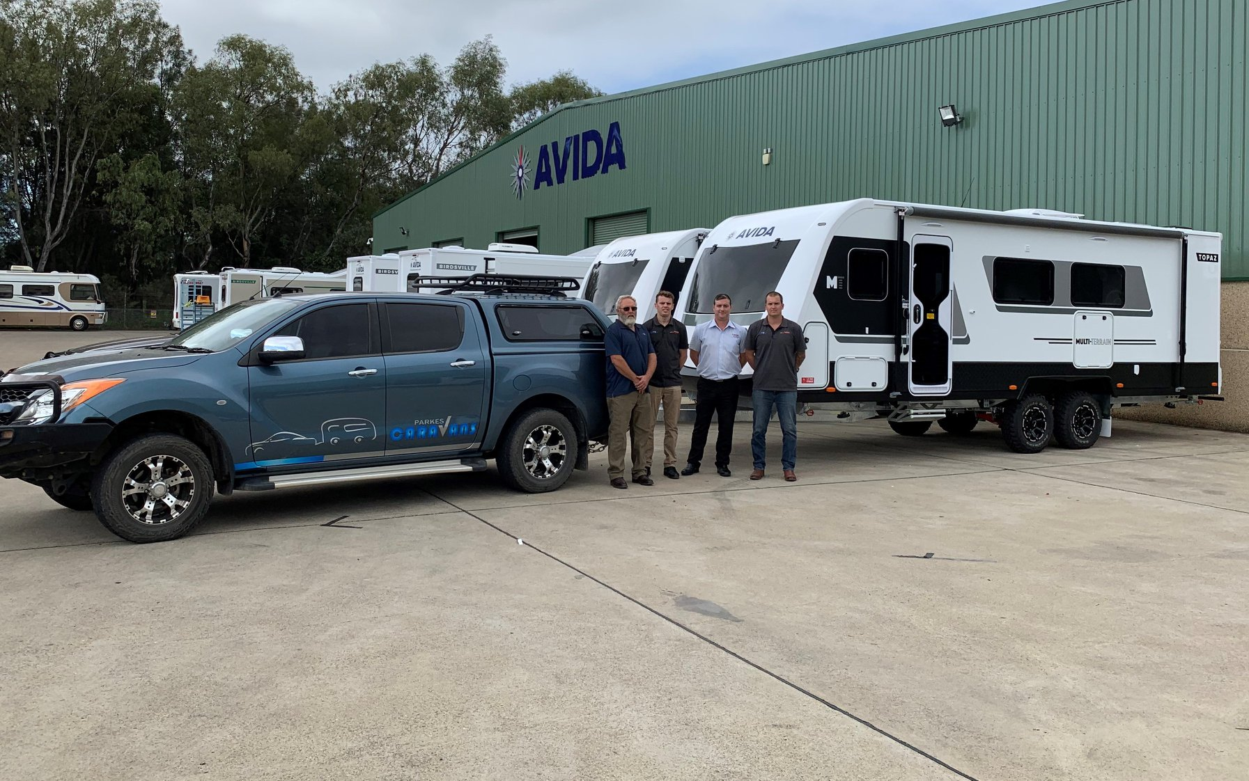 Avida Parkes take delivery