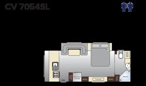 CV7054SL Topaz (21ft)